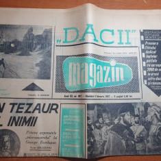 magazin 4 februarie 1967-premiera filmului Dacii,termocentrala bucuresti sud