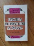 Istoria Literaturii Romane - George Calinescu ,537985