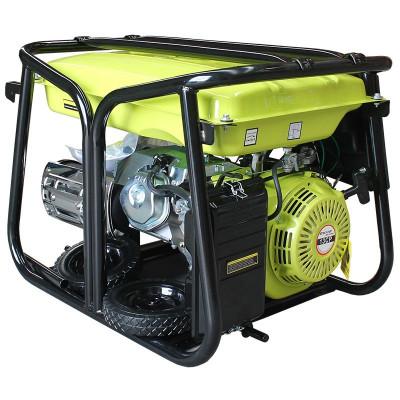 Generator curent pe benzina BS6500 monofazat (2 x 220V), AVR, putere maxima... foto
