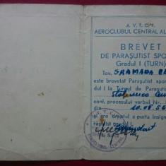 Brevet de parasutist sportiv gradul I