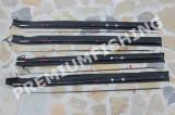 Set 4 Lansete Baracuda Fibra Plina 2,7 Metri UP To 500 Grame ( Pachet economic )