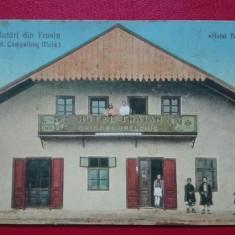 Campulung Moldovenesc Salutari din Frasin Hotel Traian, Circulata, Printata