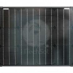Panou solar fotovoltaic monocristalin 50W Black