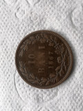 10 bani 1867 heaton. vF.romania