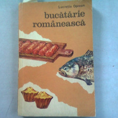 BUCATARIE ROMANEASCA - LUCRETIA OPREAN