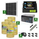 Pachet Gard electric 6,6j putere cu Panou Solar si 5000m de fir 160Kg