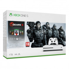 Consola Microsoft Xbox One S 1TB + Gears 5 Standard Edition (plus Gears of War Collection)