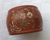 Cumpara ieftin Impresionant vas din ceramica japoneza lucrat manual inceput de secol 20