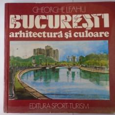 Bucuresti arhitectura si culoare - Gheorghe Leahu, an 1989