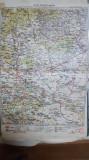 Harta Ploești, Buzău, Urlați, Slănic, Mizil, Vălenii de Munte,1928