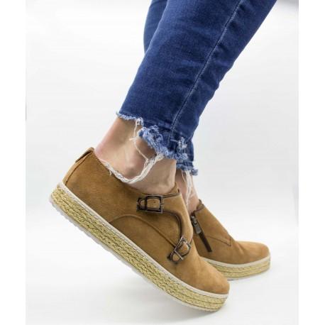 Pantofi piele naturala 1653 Gri 41