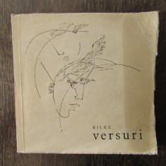 RAINER MARIA RILKE - VERSURI