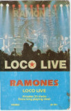 Caseta Ramones – Loco Live, foarte rara, editie 1991