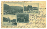 4788 - BRASOV, Litho, Romania - old postcard - used - 1900, Circulata, Printata