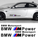 Sticker auto laterale BMW M POWER (set 2 buc.), 4World