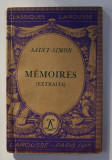 SAINT - SIMON - MEMOIRES ( EXTRAITS ) , 1939