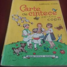 G BREAZUL - CARTE DE CANTECE PENTRU COPII
