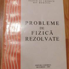 Probleme de fizica rezolvate de T. Patrascu, V. Popescu, M. Popa