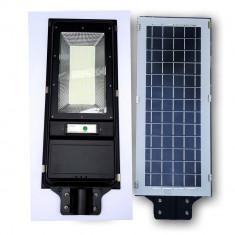 Proiector metalic cu panou solar 60w senzor miscare 240 leduri