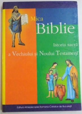 MICA BIBLIE , ISTORIA SACRA A VECHIULUI SI NOULUI TESTAMENT , 2004 foto