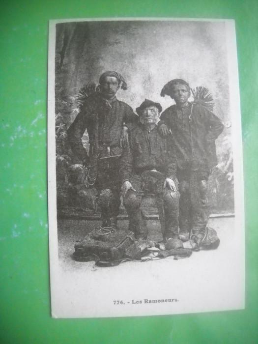 HOPCT 36977  COSARII  -SERIA FRANTA 1900-1905-NECIRCULATA