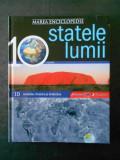 MAREA ENCICLOPEDIE STATELE LUMII volumul 10  AUSTRALIA, OCEANIA SI ANTARCTICA