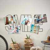 Suport pentru poze cu magneti - Smile | Balvi