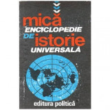 Mica enciclopedie de istorie universala