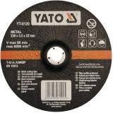 Disc debitat metal 230 x 3.2 x 22 mm Yato YT-6120