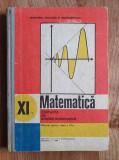 MATEMATICA. ELEMENTE DE ANALIZA MATEMATICA. MANUAL PENTRU CLASA A XI-A Gh. Gussi
