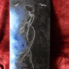 Ea 111-pictura ulei pe placaj