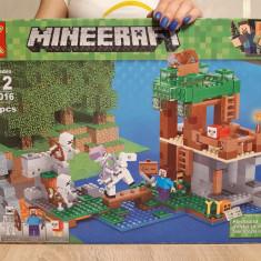 NOU/SIGILAT - Set de 518 piese tip lego Minecraft SX 1016