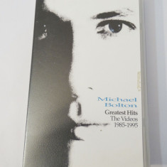 Caseta video VHS originala muzica - Michael Bolton Greatest Hits 1985 - 1995