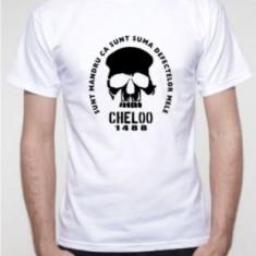 Tricou Cheloo parazitii 20 cm records suma defectelor videoclip 20cm XL