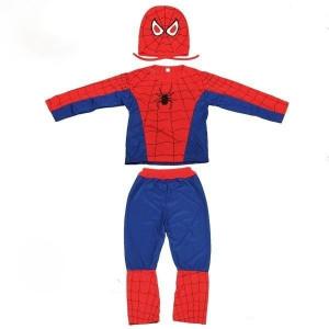 Costum Spiderman copii L 120 130 cm pentru 7 9 ani