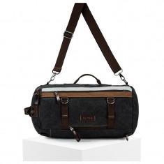 Rucsac negru, stil geanta - A144