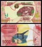 = MADAGASCAR – 5000 ARIARY – 2017 – UNC =