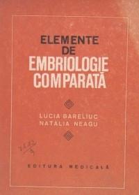 Elemente de embriologie comparata foto