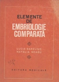 Elemente de embriologie comparata
