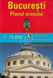 Harta Bucuresti. Planul orasului. City Plan