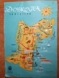 harta dobrogea turistica - din anul 1960