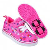 Heelys Pro 20 X2 Pink/Hot Pink/Unicorns, 34, 35