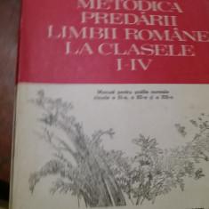 METODICA PREDARII  LIMBII  ROMANE LA CLASELE I-IV  Ioan Serdean 1993