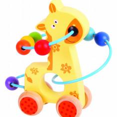 Jucarie dexteritate - Girafa PlayLearn Toys