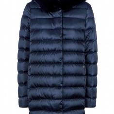 Jacheta textil dama, din poliamida, marca Geox, W9425Y-T2411-42-06, bleumarin 44