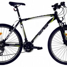 Bicicleta Mtb Dhs Terrana 2623 L Negru Verde 26 Inch
