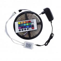 Banda LED RGB Interconectabila cu Telecomanda si Joc de Lumini
