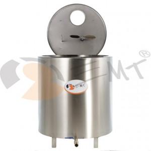 Tanc din inox pentru racire lapte 1000L x 2.2 kw trifazic EMT.CTS1000-3