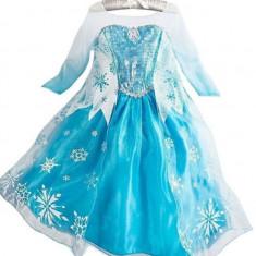 Rochita Elsa, Rochie Frozen, de petrecere,  7 ani