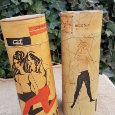 Cutii de ciorapi din perioada comunista